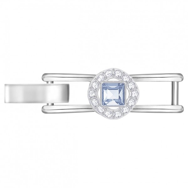 Swarovski Angelic Square Bracelet Extender, DEBL/CRY/RHS, 5373996