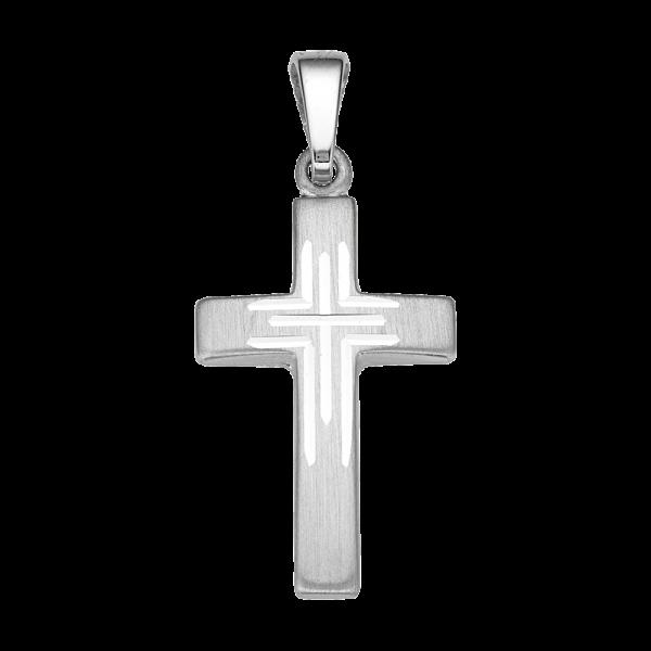 CEM 925er Silber Kreuz 18 mm BAH905050