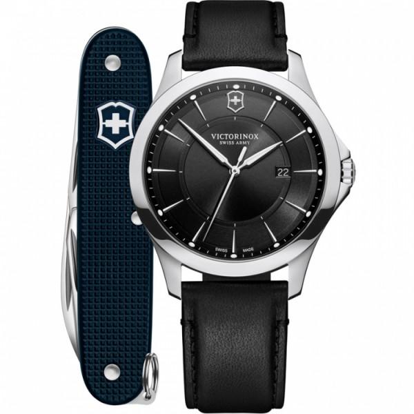 Victorinox Herrenuhr Alliance und Schweizer Taschenmesser im Set 241904.1