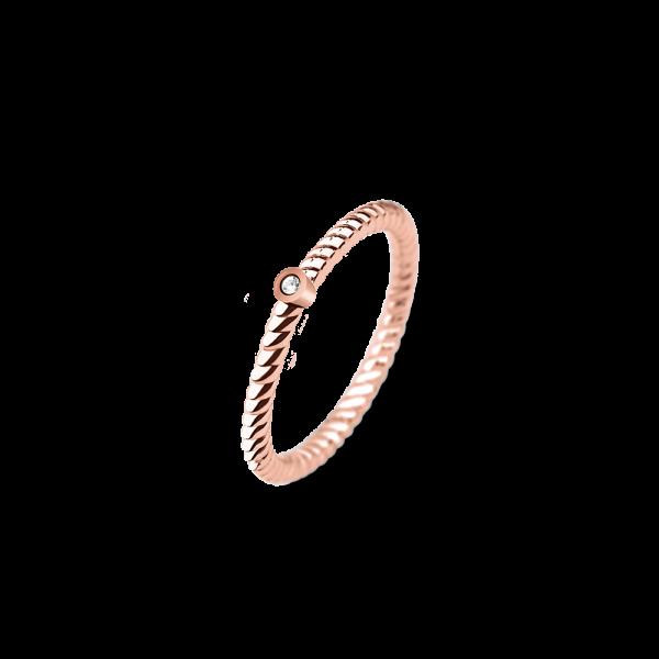 Paul Hewitt Ring Rope North Star Roségold PH-FR-StRo-R-54