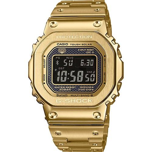 Casio G-Shock Herrenuhr Funk-Solar Limited Edition Gold GMW-B5000GD-9ER