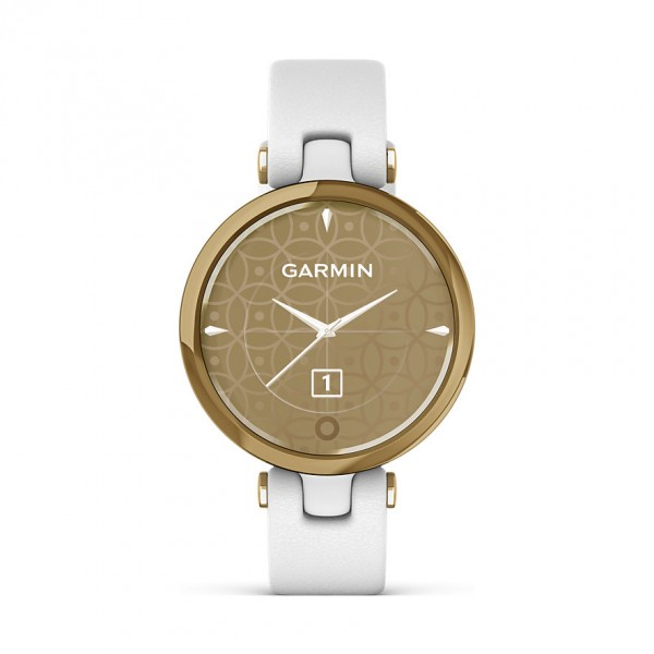Garmin Damenuhr Smartwatch Lily Classic Weiß/Hellgold 010-02384-B3