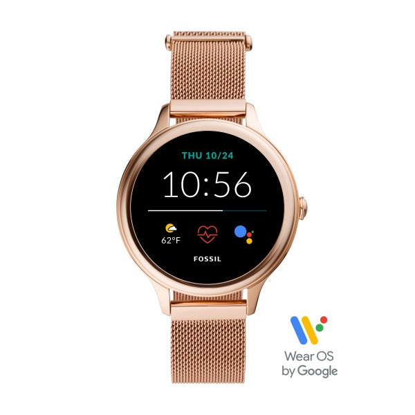 Fossil Damenuhr Smartwatch FTW6068 Gen. 5E