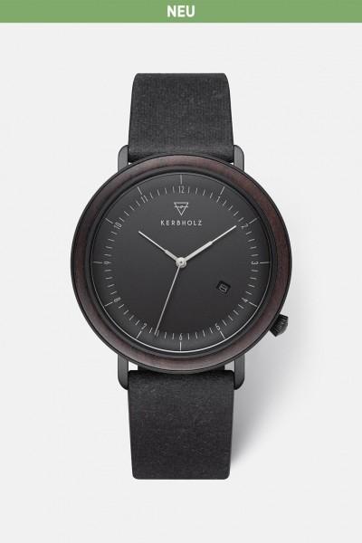 Kerbholz Herrenuhr Clemens Recycled Leather WATMCLE5666