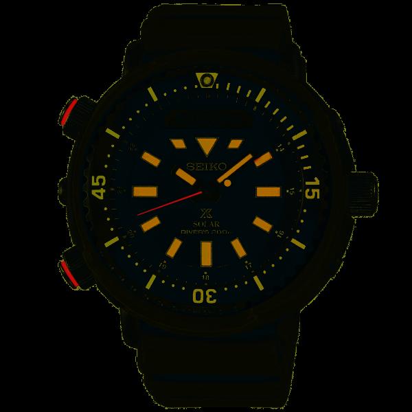 Seiko Prospex STREET Solar Chronograph Diver's Herrenuhr SNJ031P1
