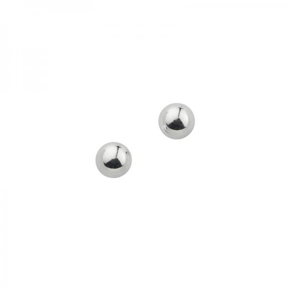 CEM 925er Silber Ohrstecker Kugel 5 mm BOS900102