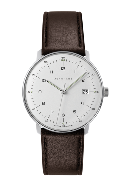JUNGHANS Herrenuhr max bill Quarz 41/4461.04