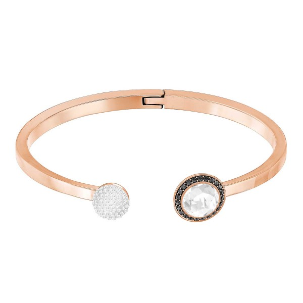 SWAROVSKI HOTE ARMREIF CRYSSHA/ROS M , ROSE GOLD , CRYSTAL SILVER SHADE 5352500