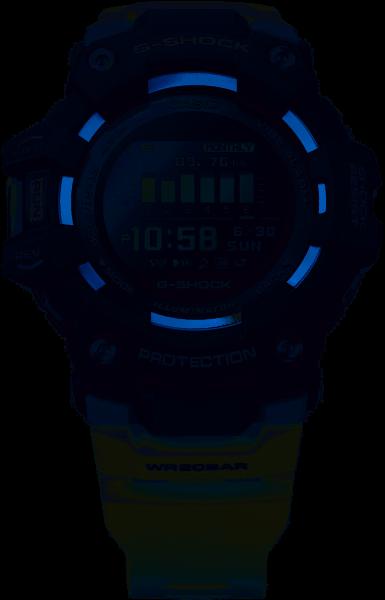 G-Shock Herrenuhr G-Squad Bluetooth GBD-100-1A7ER