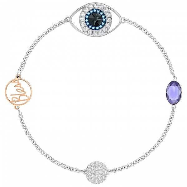 Swarovski Remix Collection Eye Symbol, violett, metallmix, 5421438