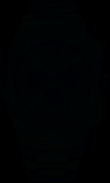 D1 Milano Herrenuhr, Charcoal Grau, D1-CHBJ03