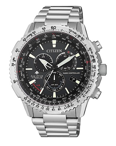 Citizen Herrenuhr Eco-Drive Multifunction Watch CB5010-81E