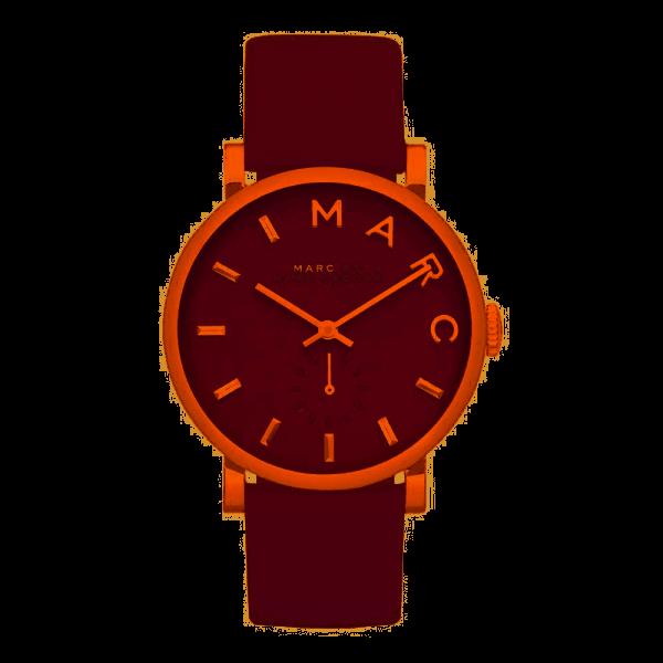 Marc Jacobs Damenuhr Baker roségold/rot MBM1267