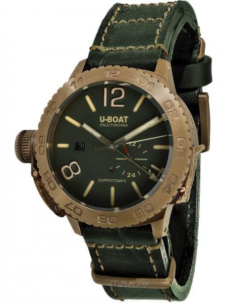 U-BOAT Herren Uhr DOPPIOTEMPO 46 BRONZO GR 9088