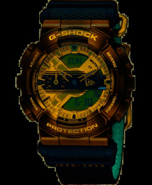Casio G-Shock Herrenuhr New Era Limited Edition GM-110NE-1AER