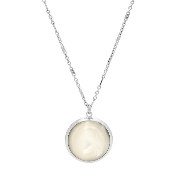 Fossil Damenkette JF02915040 Edelstahl Silber