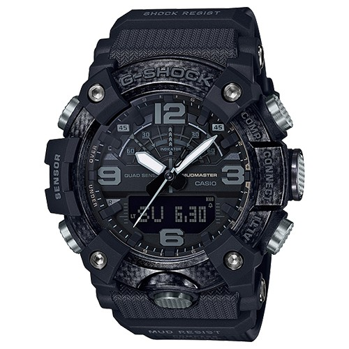 Casio G-Shock Herrenuhr Mudmaster Carbon GG-B100-1BER