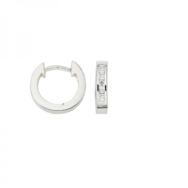 CEM 925 er Silber Creolen 12 mm BCR900519