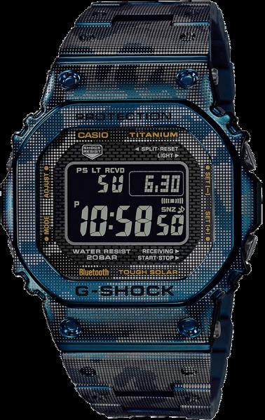 Casio G-Shock Herrenuhr G-Steel Limited Edition Camouflage GMW-B5000TCF-2ER