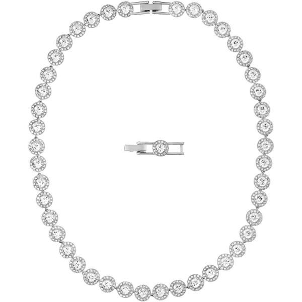 Swarovski Angelic Halskette, weiss, rhodiniert, 5117703