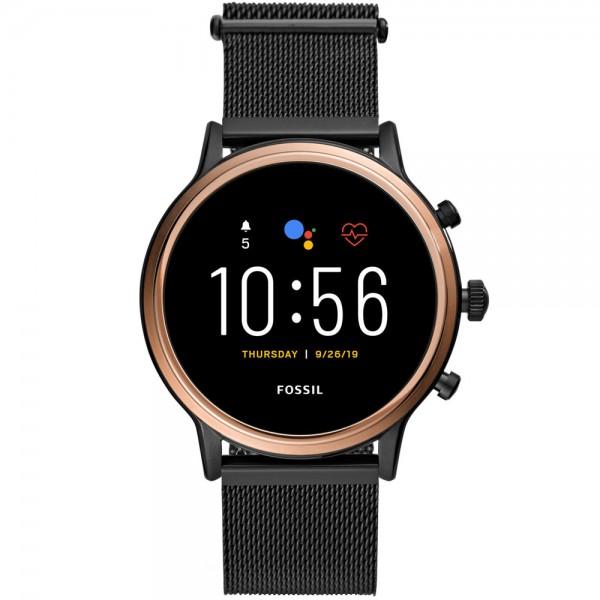 Fossil Damen Smartwatch FTW6036 Gen.5 Julianna schwarz Edelstahl