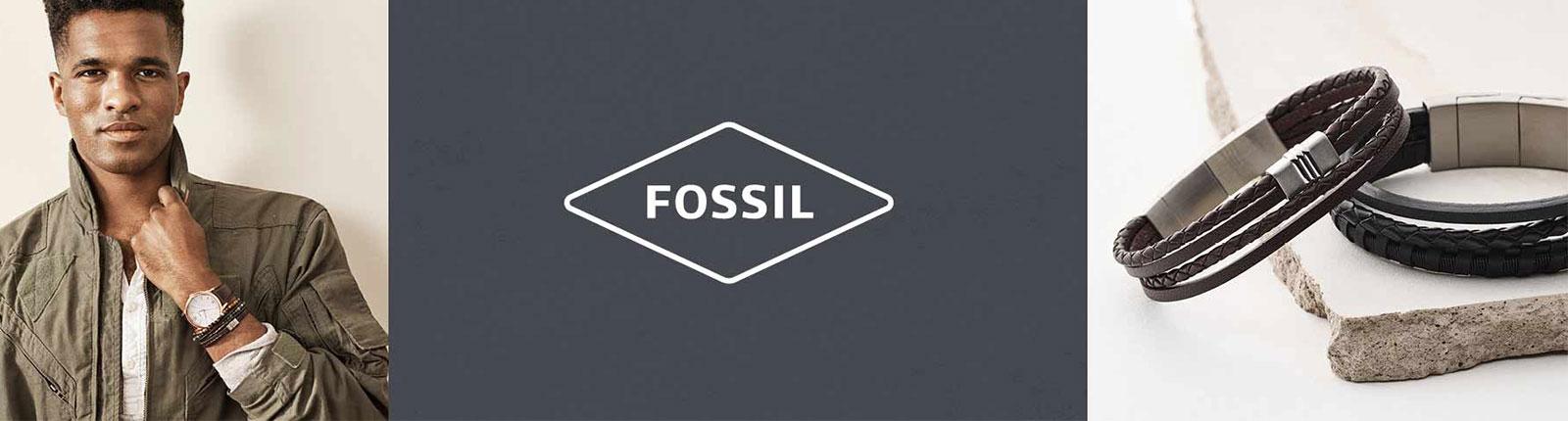 Fossil-Herrenschmuck
