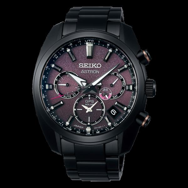 Seiko Astron GPS Solar Dual Time Special Edition Herrenuhr SSH083J1
