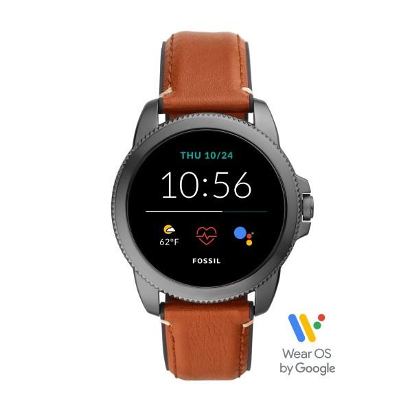 Fossil Herrenuhr Smartwatch FTW4055 Gen. 5E