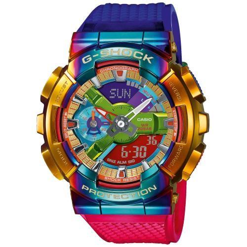 Casio G-Shock Herrenuhr Rainbow Limited Edition GM-110RB-2AER
