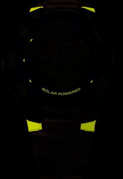 Casio G-Shock Herrenuhr Move Pulsmesser GBD-H1000-1A7ER