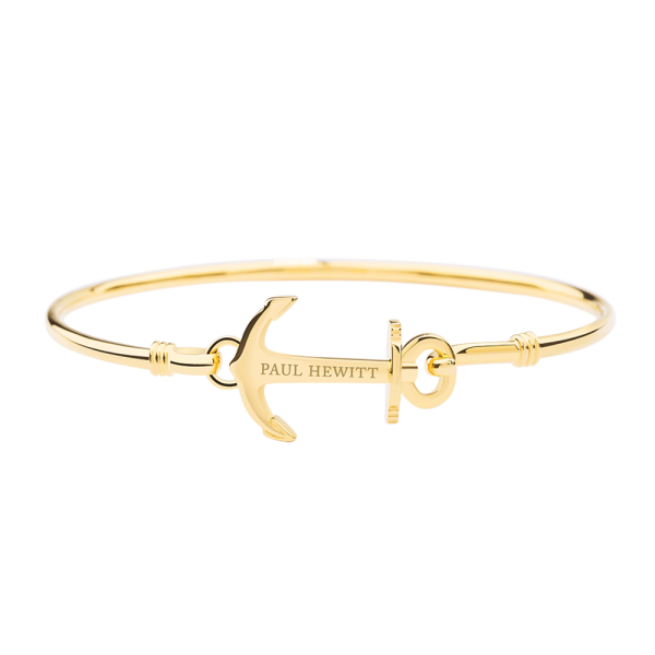 Paul Hewitt Armreif Anchor Cuff IP Gold PH-BA-A-G-M, 61mm