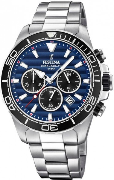 Festina Herrenuhr Chronograph Prestigue F20361/3