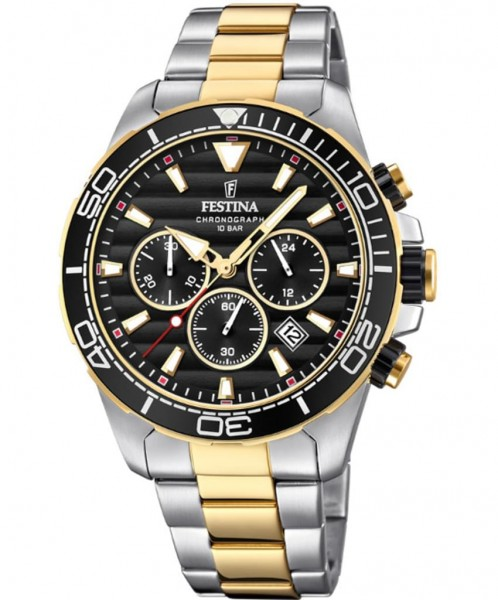 Festina Herrenuhr Chronograph Prestigue F20363/3