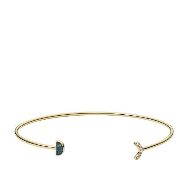 Fossil Damenarmband JF02944710 Edelstahl Gold