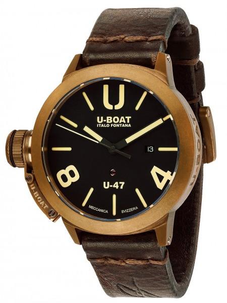 U-BOAT Herren Uhr CLASSICO U-47 BRONZE 7797