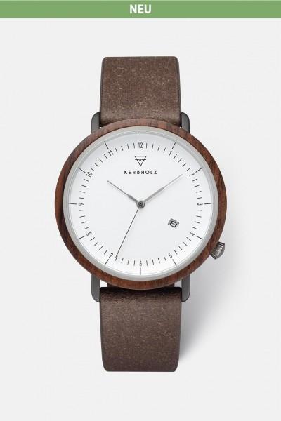 Kerbholz Herrenuhr Clemens Recycled Leather WATMCLE5659