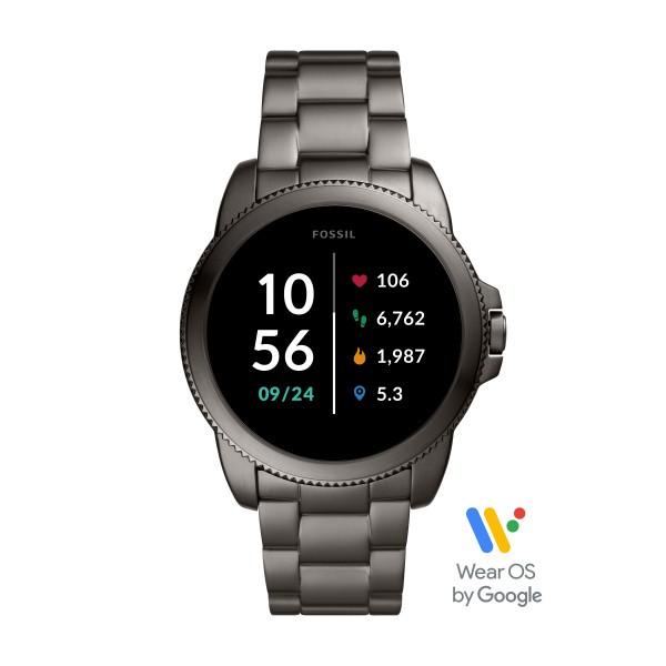 Fossil Herrenuhr Smartwatch FTW4049 Gen. 5E