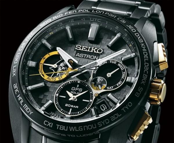Seiko Herrenuhr Astron GPS Solar Kojima Limited Edition SSH097