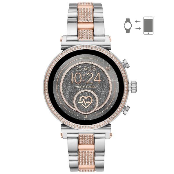 Michael Kors Damen Smartwatch Sofie Heart Rate MKT5064