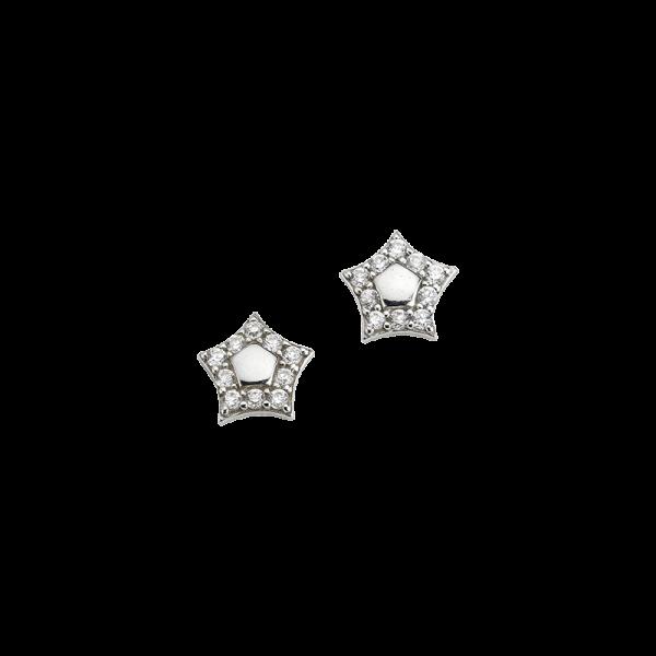 CEM 925er Silber Ohrstecker Stern BOS905083