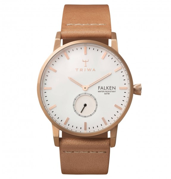 Triwa Rose Falken Tan Classic Armbanduhr TRFAST101CL010614