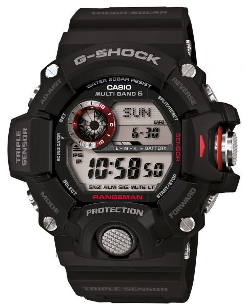 G-Shock Rangeman GW-9400-1ER Solar Herrenuhr