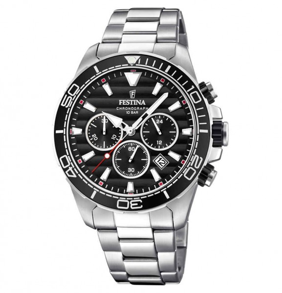 Festina Herrenuhr Chronograph Prestigue F20361/4