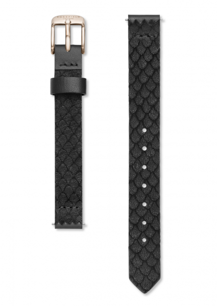 Rosefield Leder Uhrenarmband 26BR-S154