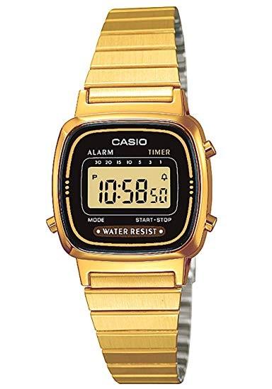 Casio Collection Damenuhr LA670WEGD-1EF