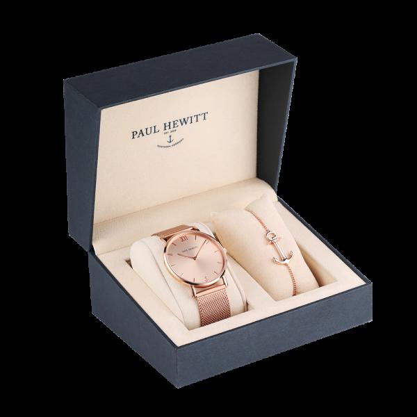 Paul Hewitt Geschenk Set Perfect Match Sailor Line Rose Sunray und Anchor Spirit PH-PM-1