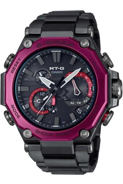 Casio G-Shock MTG-B2000BD-1A4ER Funk-Solar G-Steel