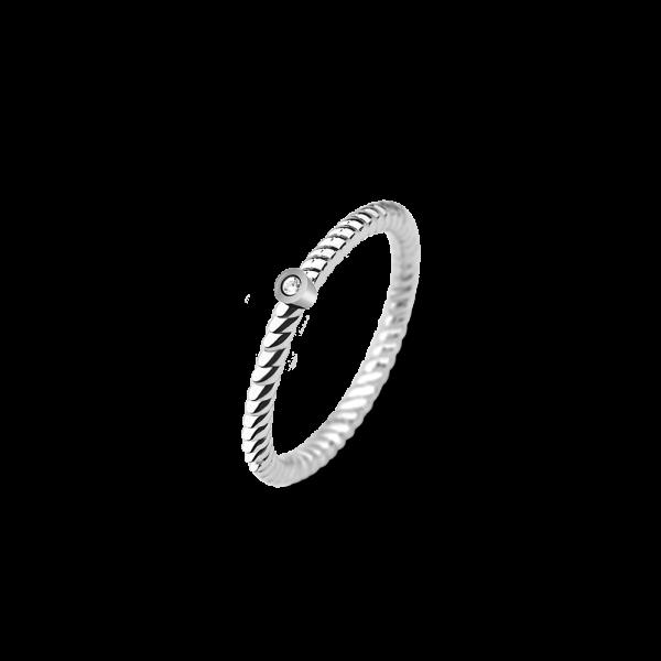 Paul Hewitt Ring Rope North Star Silver PH-FR-STRO-S-58