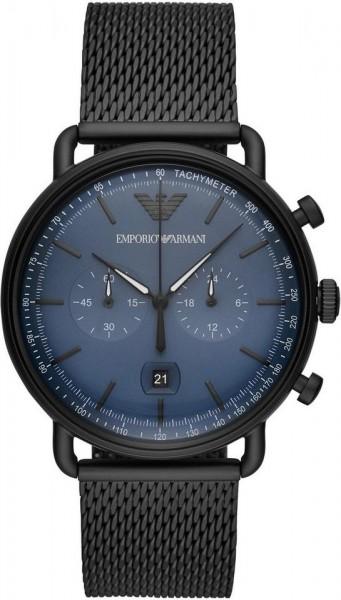 Emporio Armani Herrenuhr Aviator Chronograph AR11201