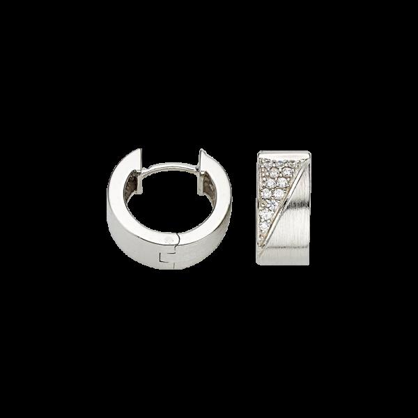 verschiedene Farben bester Verkauf schnell verkaufend CEM 925er Silber Creolen mit Stahlfeder BCR905252